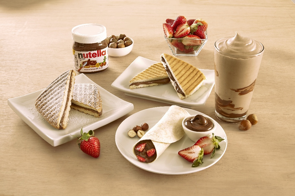Antojos de Nutella y Wake-up Bowl disponibles en Wendy's