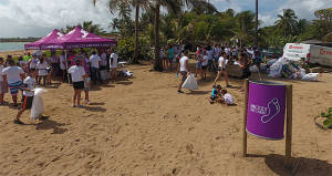 Invitan a limpiar y reforestar las playas en el World Beach Rescue Day