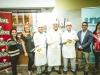 Grupo de finalistas Chef Boyardee Cook Off Challenge